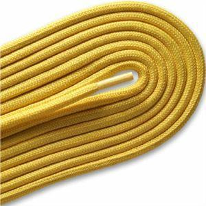 "Fashion Casual/Athletic Round 3/16"" Laces Custom Length with Tip - Gold (1 Pair Pack) Shoelaces from Shoelaces Express"