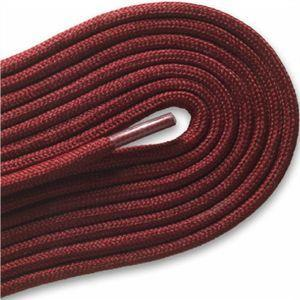 "Fashion Casual/Athletic Round 3/16"" Laces Custom Length with Tip - Maroon (1 Pair Pack) Shoelaces from Shoelaces Express"
