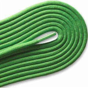 "Fashion Casual/Athletic Round 3/16"" Laces Custom Length with Tip - Neon Green (1 Pair Pack) Shoelaces from Shoelaces Express"