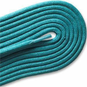"Fashion Casual/Athletic Round 3/16"" Laces Custom Length with Tip - Turquoise (1 Pair Pack) Shoelaces from Shoelaces Express"
