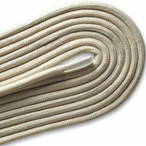 "Fashion Casual/Athletic Round 3/16"" Laces - Vanilla Cream (2 Pair Pack) Shoelaces from Shoelaces Express"