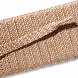 Spool - Fashion Athletic Flat - Beige (144 yards) Shoelaces from Shoelaces Express