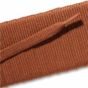 Fashion Athletic Flat Laces - Cognac (2 Pair Pack) Shoelaces from Shoelaces Express