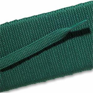 Fashion Athletic Flat Laces Custom Length with Tip - Kelly Green (1 Pair Pack) Shoelaces from Shoelaces Express
