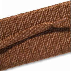 Fashion Athletic Flat Laces - Light Brown (2 Pair Pack) Shoelaces from Shoelaces Express
