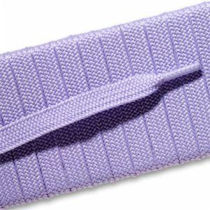 Fashion Athletic Flat Laces Custom Length with Tip - Lilac (1 Pair Pack) Shoelaces from Shoelaces Express