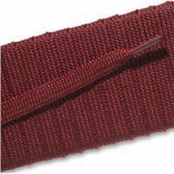 Spool - Fashion Athletic Flat - Maroon (144 yards) Shoelaces from Shoelaces Express