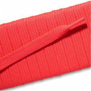 Fashion Athletic Flat Laces - Neon Pink (2 Pair Pack) Shoelaces from Shoelaces Express