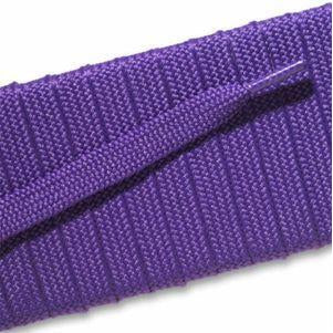 Fashion Athletic Flat Laces Custom Length with Tip - Purple (1 Pair Pack) Shoelaces from Shoelaces Express