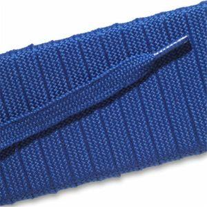 Fashion Athletic Flat Laces Custom Length with Tip - Royal Blue (1 Pair Pack) Shoelaces from Shoelaces Express