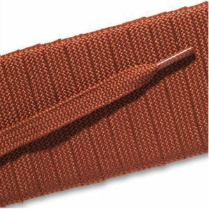 Fashion Athletic Flat Laces Custom Length with Tip - Sorrento Brick (1 Pair Pack) Shoelaces from Shoelaces Express