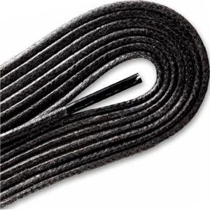 Waxed Cordo-Hyde Laces for Golf Shoes - Black (2 Pair Pack) Shoelaces from Shoelaces Express