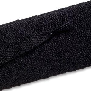 Flat Athletic Laces - Black (2 Pair Pack) Shoelaces from Shoelaces Express