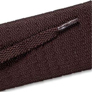 Flat Athletic Laces - Brown (2 Pair Pack) Shoelaces from Shoelaces Express