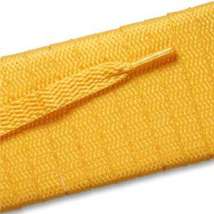 Flat Athletic Laces - Gold (2 Pair Pack) Shoelaces from Shoelaces Express