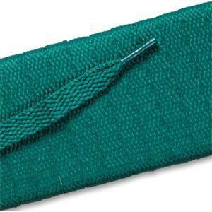 Flat Athletic Laces - Kelly Green (2 Pair Pack) Shoelaces from Shoelaces Express