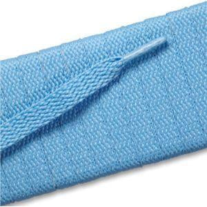 Flat Athletic Laces Light Blue 36""