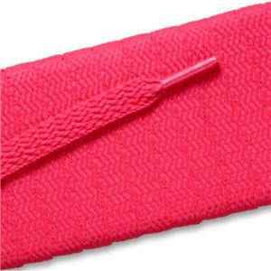 Flat Athletic Laces - Neon Pink (2 Pair Pack) Shoelaces from Shoelaces Express