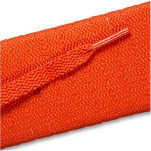 Flat Athletic Laces - Orange (2 Pair Pack) Shoelaces from Shoelaces Express