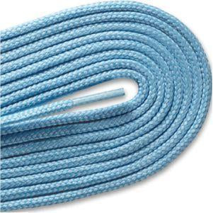 Round Athletic Laces - Light Blue (2 Pair Pack) Shoelaces from Shoelaces Express