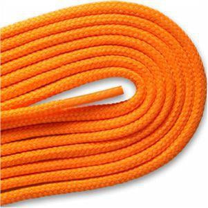 Round Athletic Laces - Neon Orange (2 Pair Pack) Shoelaces from Shoelaces Express