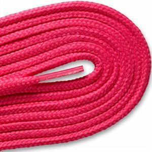 Round Athletic Laces - Neon Pink (2 Pair Pack) Shoelaces from Shoelaces Express