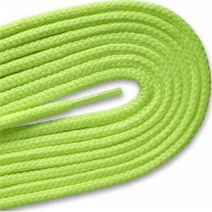 Round Athletic Laces - Neon Yellow (2 Pair Pack) Shoelaces from Shoelaces Express