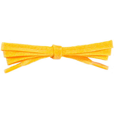 Spool - Waxed Cotton Flat Dress - Yellow (100 yards) Shoelaces from Shoelaces Express