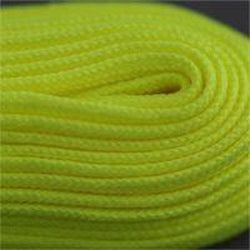 Figure Skate Laces - Neon Yellow (2 Pair Pack) Shoelaces from Shoelaces Express