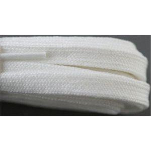 Roller Skate Laces - White (2 Pair Pack) Shoelaces from Shoelaces Express