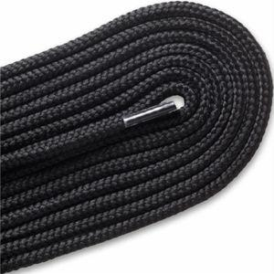 Thick Round Athletic Laces - Black (2 Pair Pack) Shoelaces from Shoelaces Express
