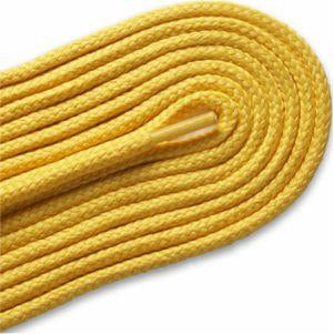 Thick Round Athletic Laces - Gold (2 Pair Pack) Shoelaces from Shoelaces Express