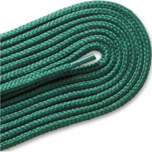 Thick Round Athletic Laces - Kelly Green (2 Pair Pack) Shoelaces from Shoelaces Express