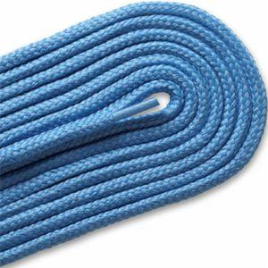 Thick Round Athletic Laces - Light Blue (2 Pair Pack) Shoelaces from Shoelaces Express