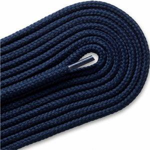 Thick Round Athletic Laces - Navy (2 Pair Pack) Shoelaces from Shoelaces Express