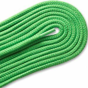 Thick Round Athletic Laces - Neon Lime (2 Pair Pack) Shoelaces from Shoelaces Express