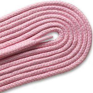 Thick Round Athletic Laces - Pink (2 Pair Pack) Shoelaces from Shoelaces Express
