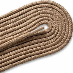 Thick Round Athletic Laces - Tan (2 Pair Pack) Shoelaces from Shoelaces Express