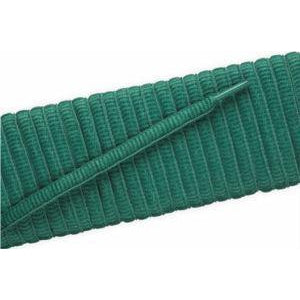 Oval Athletic Laces - Kelly Green (2 Pair Pack) Shoelaces from Shoelaces Express