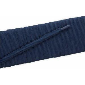 Oval Athletic Laces - Navy (2 Pair Pack) Shoelaces from Shoelaces Express