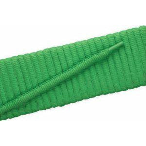 Oval Athletic Laces - Neon Lime (2 Pair Pack) Shoelaces from Shoelaces Express