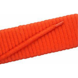 Oval Athletic Laces - Orange (2 Pair Pack) Shoelaces from Shoelaces Express