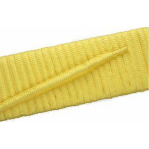 Oval Athletic Laces - Yellow (2 Pair Pack) Shoelaces from Shoelaces Express
