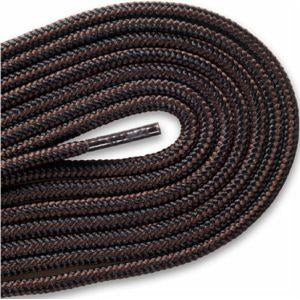 Hikers Heavy Duty Boot Laces Black Brown 45""