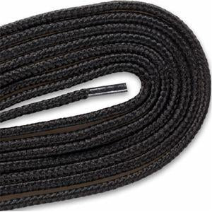Heavy Duty Boot Laces - Black (2 Pair Pack) Shoelaces from Shoelaces Express