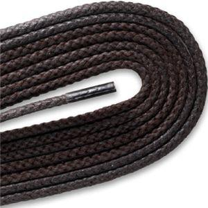 Boot/High Top Waxed Laces - Brown (2 Pair Pack) Shoelaces from Shoelaces Express