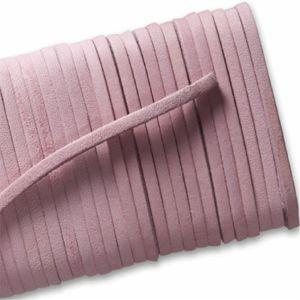 Square Leather Laces - Pink (1 Pair Pack) Shoelaces from Shoelaces Express