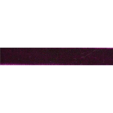 Velvet Custom Laces with optional Tip - Fuchsia (1 Pair Pack) Shoelaces from Shoelaces Express