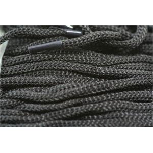 "11"" Bag Handle Laces - Black Shoelaces from Shoelaces Express"