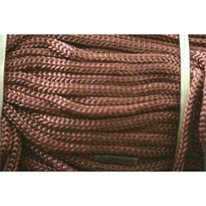 Bag Handle Barb Laces Dark Tan 11""